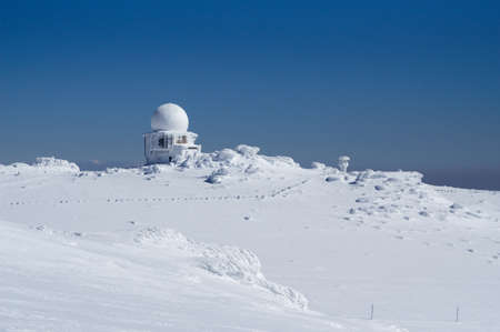 Doppler radar station photo