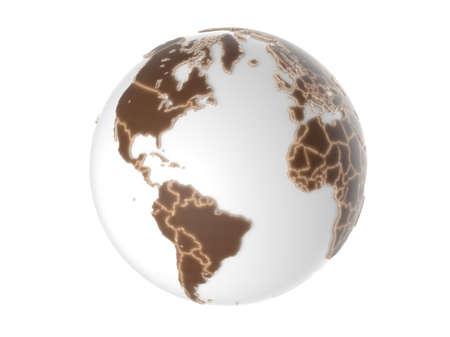 Globe - isolated Stock Photo - 20334699