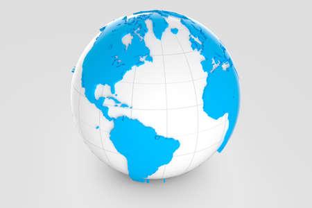 Globe - America Stock Photo - 20334509