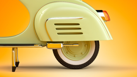 vespa: Retro scooter
