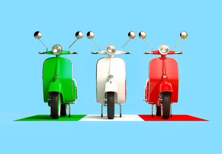 Italian scooters photo