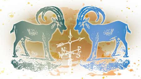 establish: Illustration 2 Goat