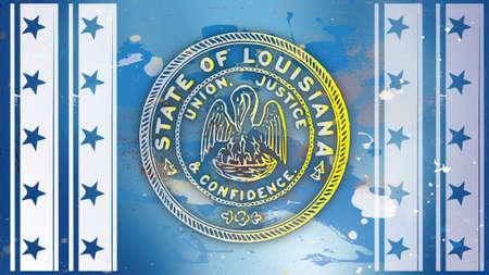 american history: History of American Patriotic Symbols Louisiana