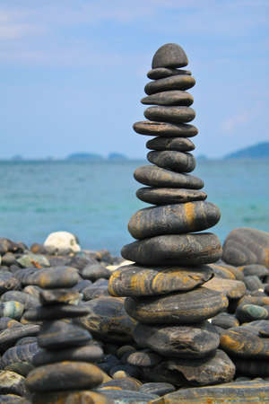 overlap: Rock overlap 2 Stock Photo