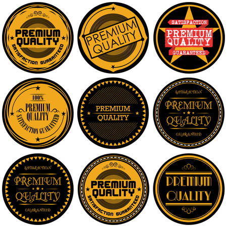 quality guarantee: Collection of Premium and High Quality and Guarantee Labels design
