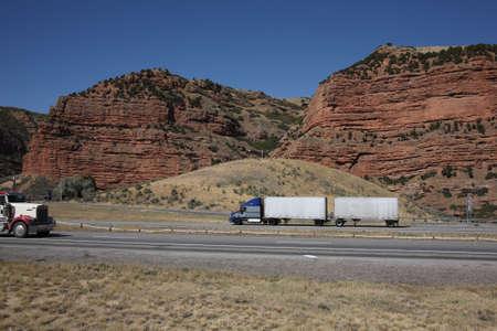 Utah Mountain Pass Banco de Imagens