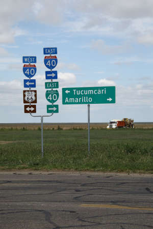 Route 66 in the Texas Panhandle