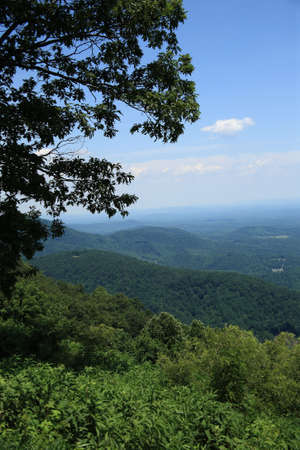 Blue Ridge Mountains - Virginia Stock Photo - 5205253