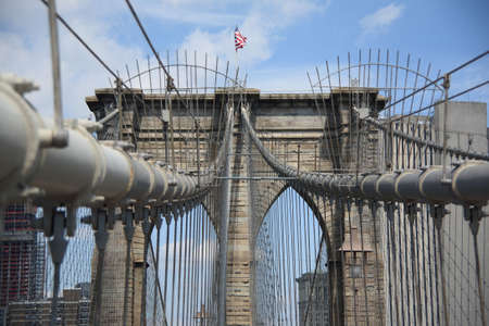 Brooklyn Bridge - New York City Skyline Stock Photo - 5289873