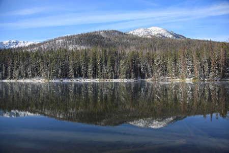 Yellowstone National Park - Lake Reflections photo