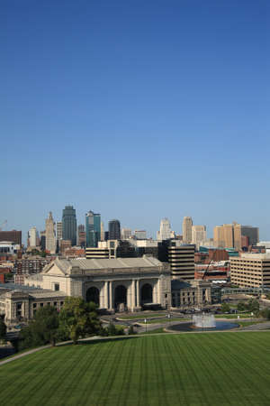 Kansas City Skyline and Union Station photo