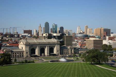 Kansas City Skyline en Union Station