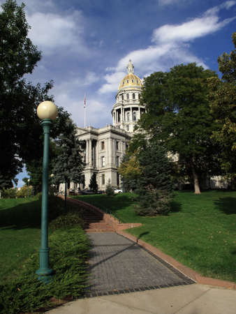 colfax: Colorado State Capitol Building in Denver Stock Photo