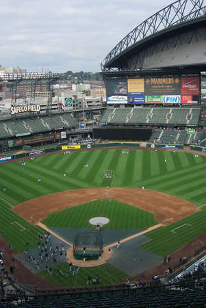 Seattle, Washington, September 15, 2007: Safeco Field, downtown domed stadium, home of the Seattle Mariners baseball team