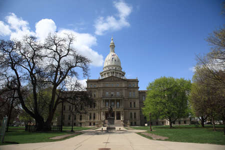 state government: Michigan State Capitol Building