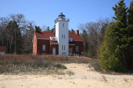 Lighthouse - 40 Mile Point, Michigan photo