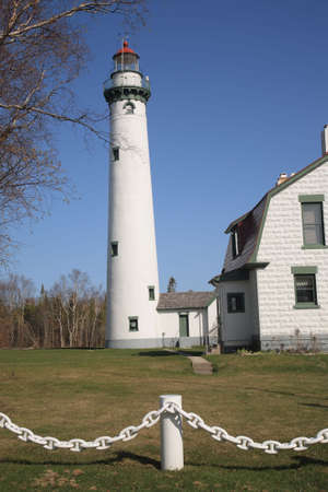 Lighthouse - Presque Isle, Michigan photo