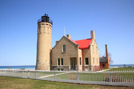 Lighthouse - Mackinac Point, Michigan Stock Photo - 7135574