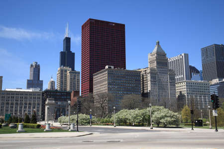 Chicago Skyline and Lakeshore Drive