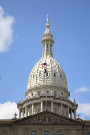 michigan state: Michigan State Capitol Building