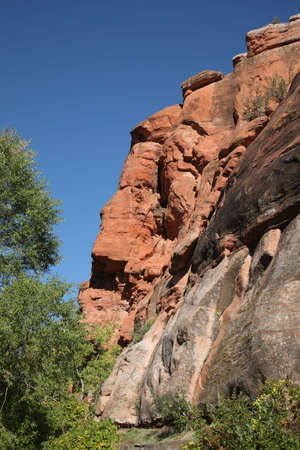Mountain Slope - Red Rock Stock Photo - 7367025