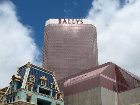Atlantic City, New Jersey - May 19, 2010: Bally Casino Hotel at the New Jersey shore