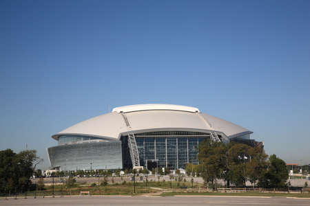 Arlington, Texas, September 28, 2010: Dallas Cowboys Stadium, new home of NFL Cowboys