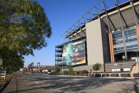 Philadelphia, September 7, 2010: Lincoln Financial Field, home of the NFL Eagles, located in the South Philly sports complex. Stock Photo - 8010334