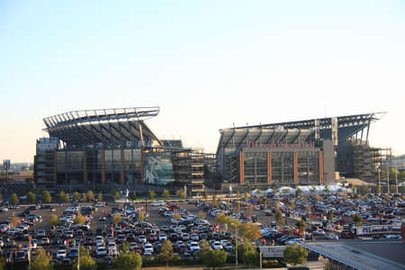 Philadelphia, September 7, 2010: Lincoln Financial Field, home of the NFL Eagles, located in the South Philly sports complex.