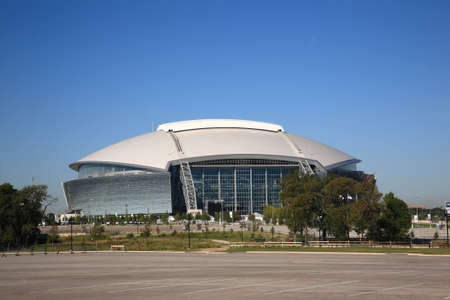 ballpark: Arlington, Texas, September 28, 2010: Dallas Cowboys Stadium, new home of NFL Cowboys