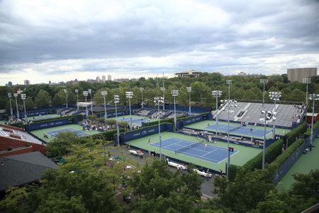 New York - September 9, 2010: Billie Jean King Tennis Center near Arthur Ashe Stadium at the a U.S. Open in Queens, New York City.