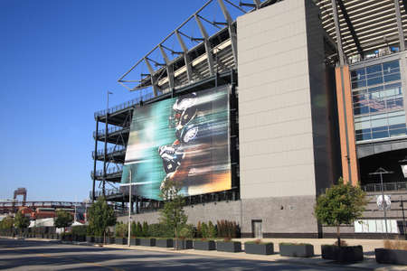 lincoln: Philadelphia, September 7, 2010: Lincoln Financial Field, home of the NFL Eagles, located in the South Philly sports complex.