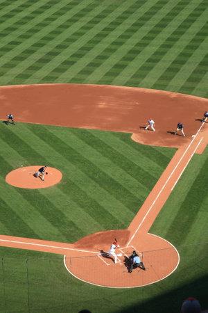 St. Louis, September 18, 2010: Albert Pujols at bat at a Cardinals game at Busch Stadium.