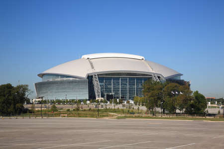 Arlington, Texas, September 28, 2010 - Dallas Cowboys Stadium, home of the National Football League Cowboys.