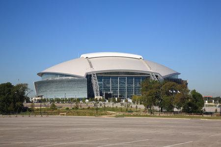 Arlington, Texas, September 28, 2010 - Dallas Cowboys Stadium, huis van de National Football League Cowboys.