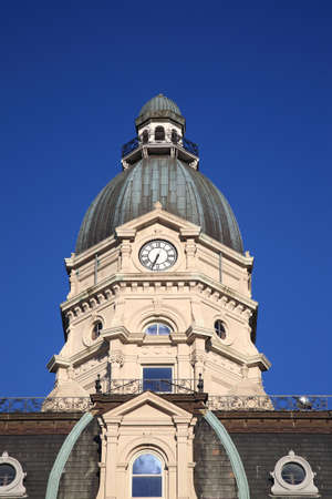 haute: Vigo County Courthouse in Terre Haute, Indiana, in the National Register of Historic Places. Editorial