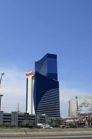 Atlantic City, New Jersey - April 20, 2011: Harrah's resort in the Marina section of Atlantic City, New Jersey. Stock Photo - 11457747