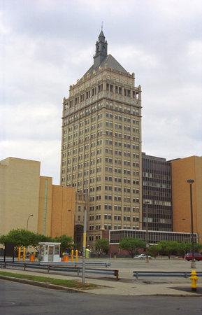 Rochester, New York - August 27, 2005: Kodak Building in Rochester, New York. Headquarters for the Eastman Kodak company.