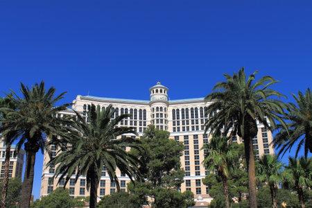 bellagio: Las Vegas - July 3, 2012: Bellagio Hotel and Casino on the famous Strip