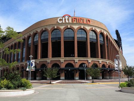 Flushing, New York - September 3, 2014: Citi Field, home of the New York Mets baseball team. Editorial