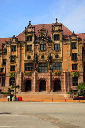 st louis: St. Louis City Hall - Landmark building on Market Street. Stock Photo