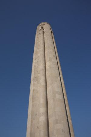 pershing: Liberty Memorial - Kansas, City, Missouri landmark atop National World War I Museum