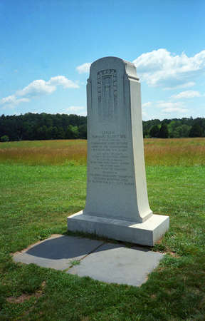 Manassas National Battlefield Park  - General Bee Monument