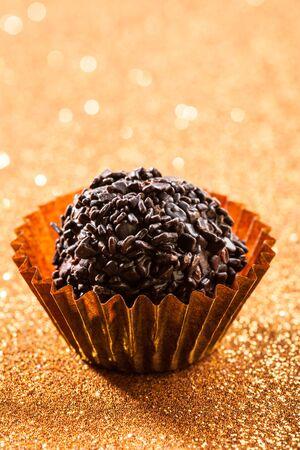 truffle: Organic chocolate truffle ball