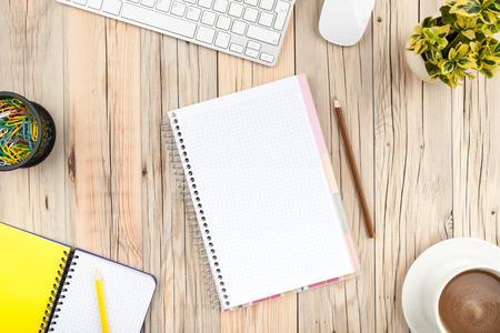studie: Kancelářský stůl stůl Reklamní fotografie