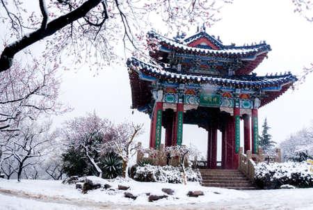 jiangsu:  China Meihua Mountain, eastern suburbs of Nanjing, Jiangsu Stock Photo
