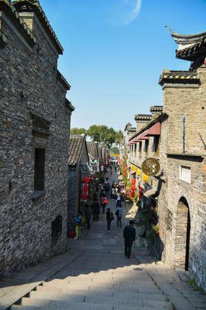 jiangsu:  shop lot taken in Zhenjiang, Jiangsu China