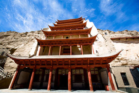 Architecture in Han Dynasty Stock Photo