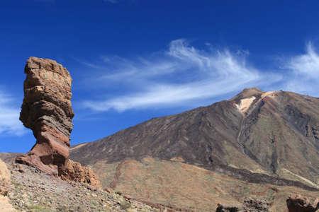 el: El Teide postcard