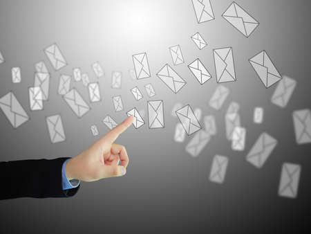 sent: Businessman sent message